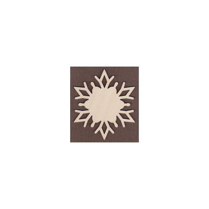 WT1136-Laser cut Alpine Snowflake