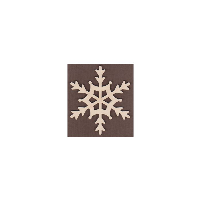 WT1176-Laser cut Tahoe Scroll Snowflake