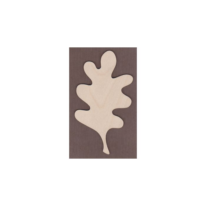 WT1504-Laser cut Oak Leaf