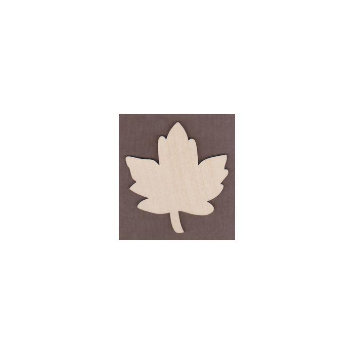 WT1525-Laser cut Old Fashioned Maple Leaf