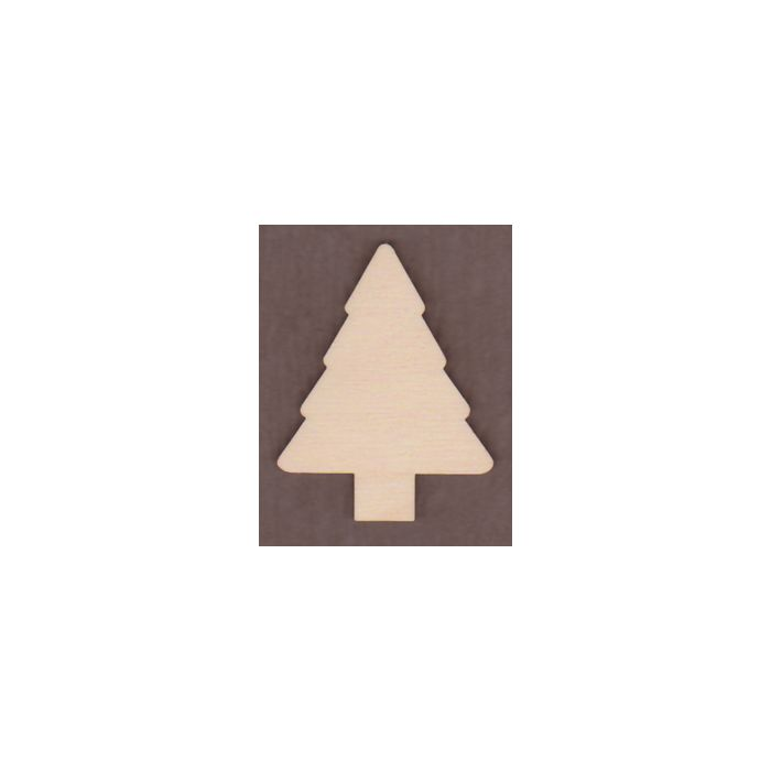 WT1470-Laser cut Evergreen Tree