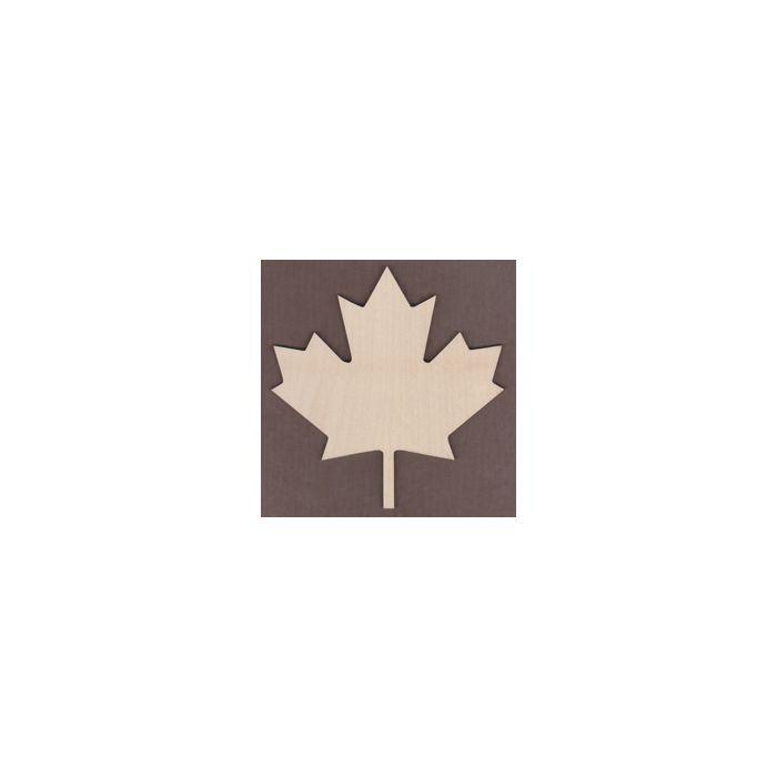 WT1539-Laser cut Canadian Maple Leaf