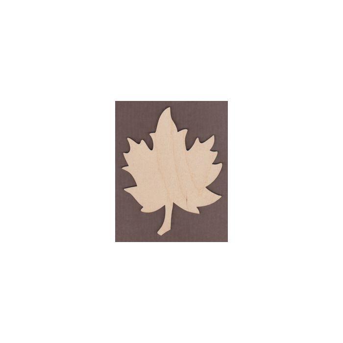 WT1496-Laser cut Wavy Maple Leaf