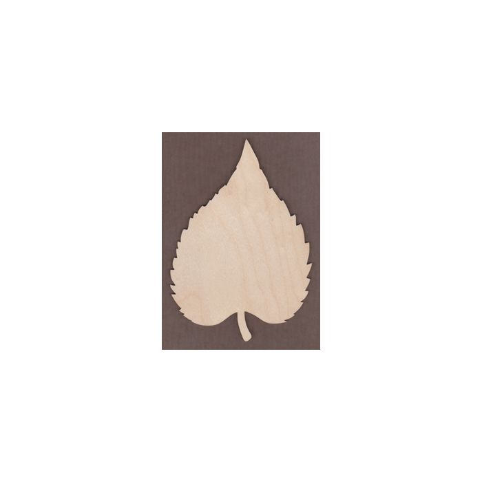 WT1508-Laser cut Oval Leaf