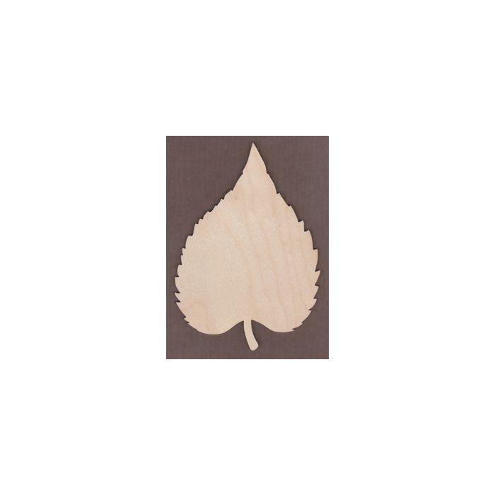 WT1511-Laser cut Oval Leaf
