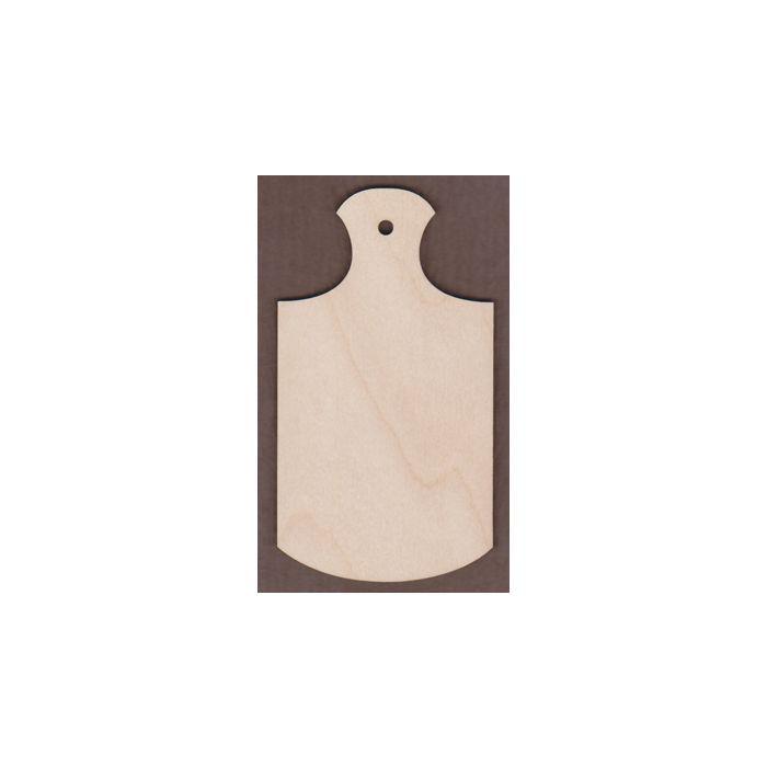 WT1633-Laser cut Bread Board Gift Tag