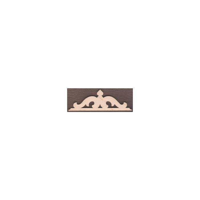WT1747-Laser cut Scroll Gingerbread Trim