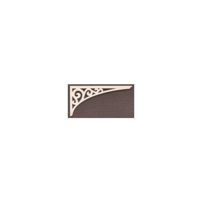 WT1709-Laser cut Arch Scroll Gingerbread Bracket