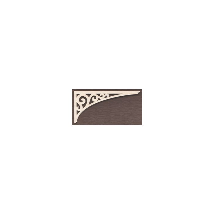WT1713-Laser cut Arch Scroll Gingerbread Bracket