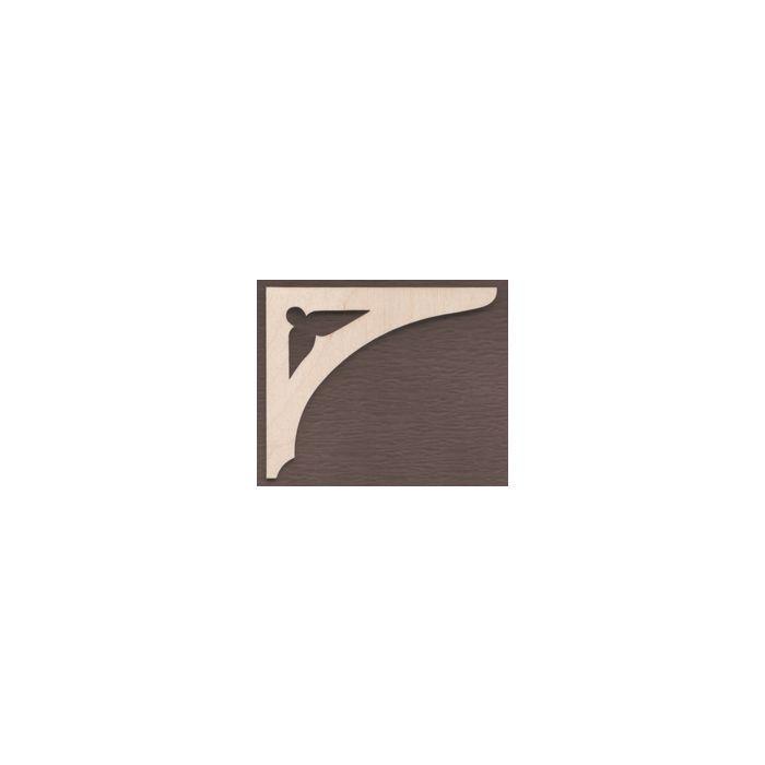 WT1727-Laser cut Arch Gingerbread Bracket