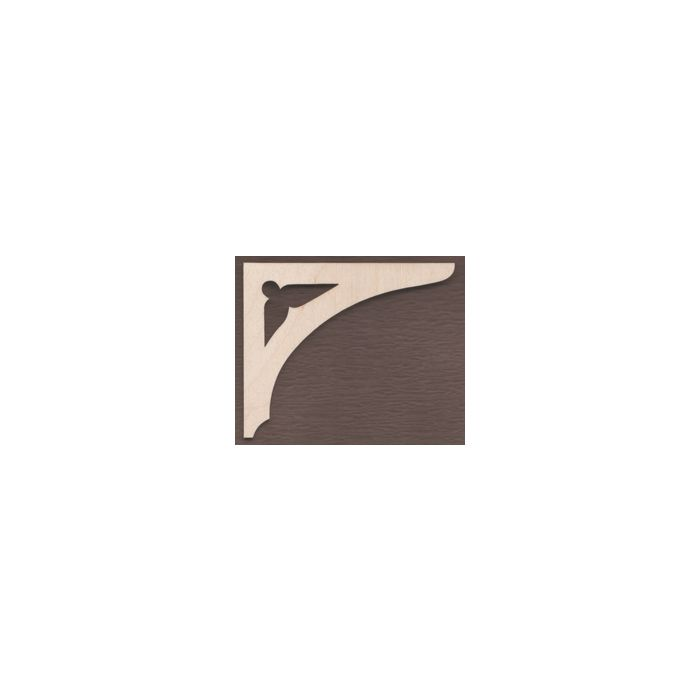 WT1728-Laser cut Arch Gingerbread Bracket
