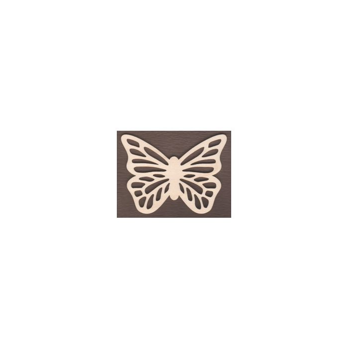 WT1752-Laser cut Scroll Butterfly