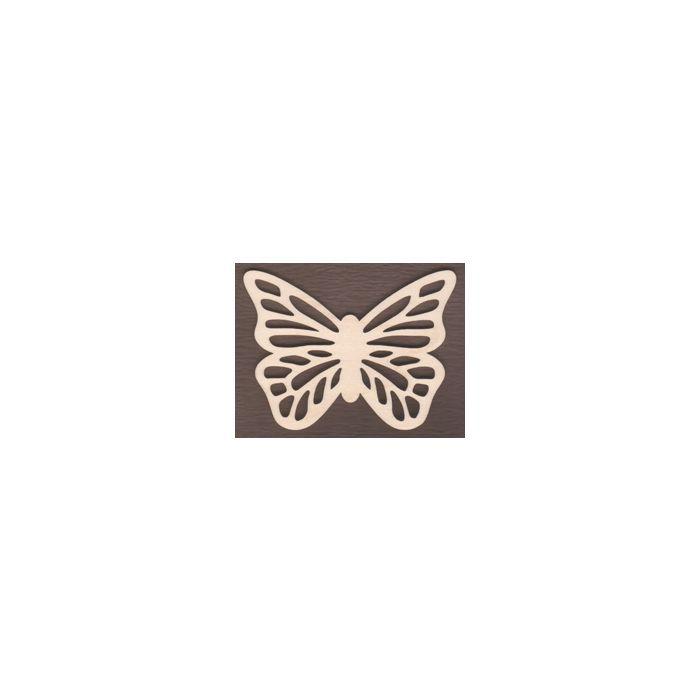 WT1755-Laser cut Scroll Butterfly