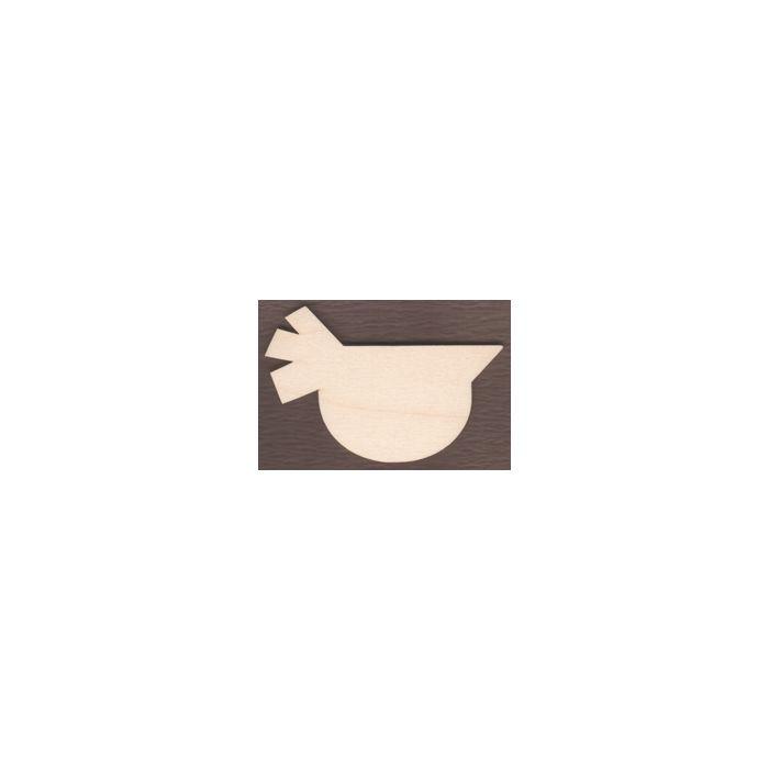 WT1796-Laser cut Short Folk Art Bird