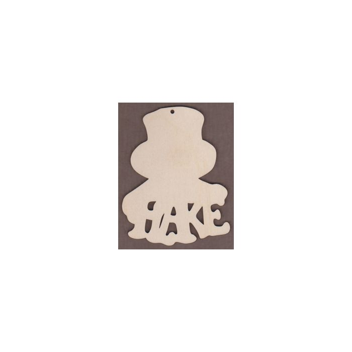 Laser cut Flake Snowman from Jamie Mills-Price Christmastime 6