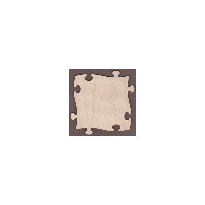 WT2248-Laser cut Puzzle Piece
