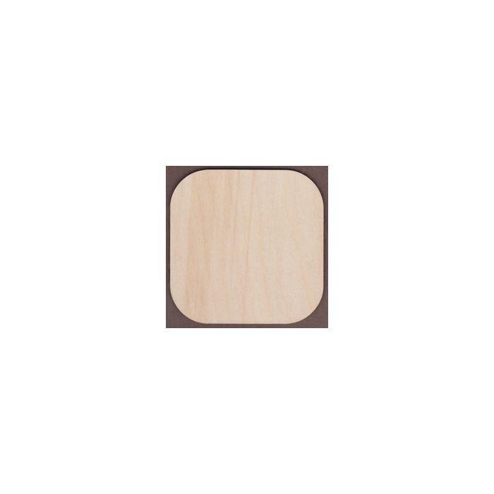 WT2361-Laser cut Square-Round Corner